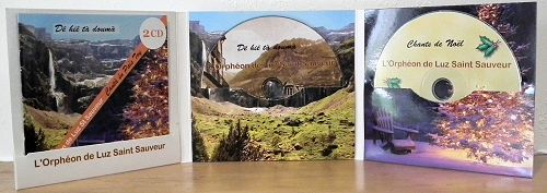 Packaging CD : Digifile 3 volets 2 CD