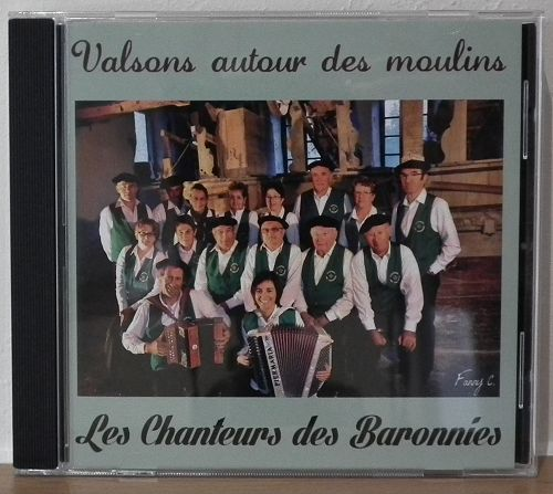 galerie pressage cd audio : chorale des baronnies