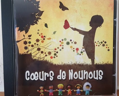 Pressage CD audio Coeurs de Nounours
