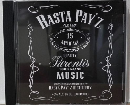 galerie pressage cd audio : Rasta Pay'z