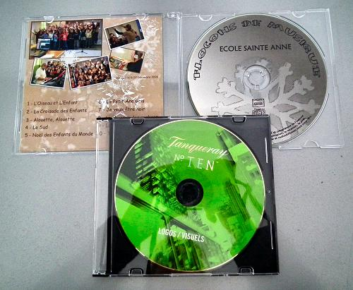 Packaging CD : boitier extra plat