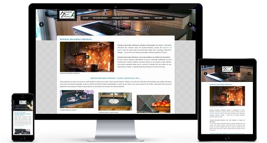 Galerie site internet ardoises decoration